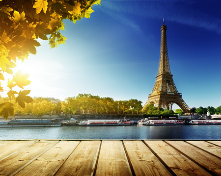 autumn in Paris Banque d'images