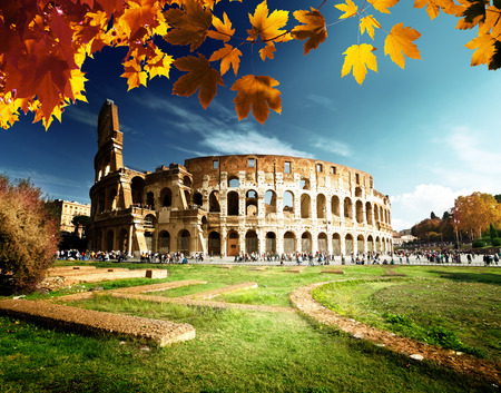 italy: Colosseum in Rome, Italy