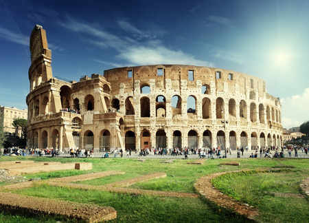 italy culture: Colosseum in Rome, Italy