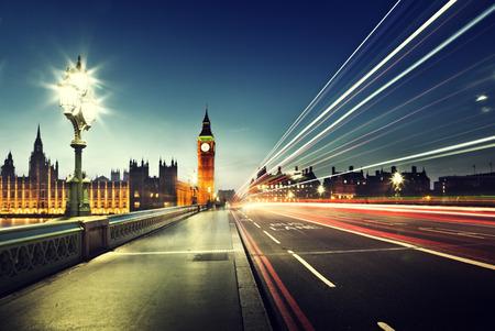 houses street: Big Ben from Westminster Bridge, London