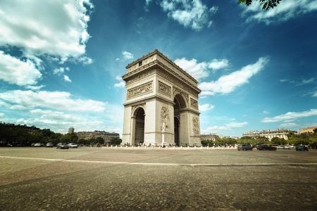 triumphe: Arc de Triumph, Paris
