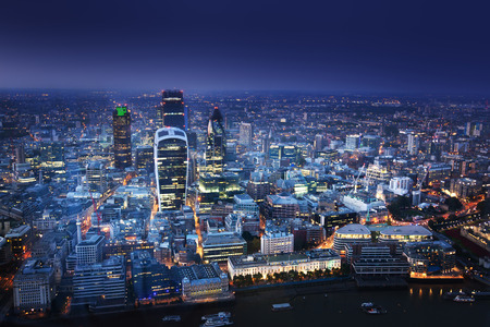 gherkin: London at night