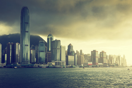 Skyline of Hong Kong photo