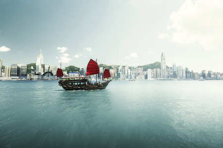 Hong Kong harbour Editorial