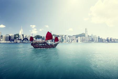 Hong Kong harbour photo
