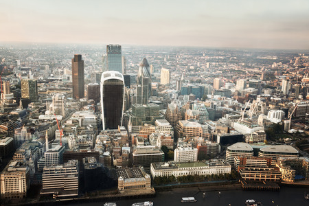 City of London At Sunset Imagens - 35959214