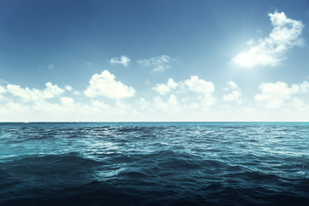 perfecte hemel en de oceaan