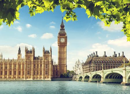 england big ben: Big Ben in sunny day, London
