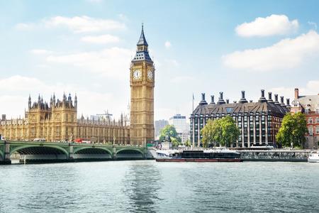 晴れた日に、ロンドンでビッグ ・ ベン