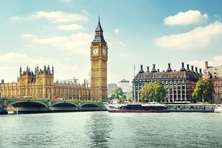 london big ben: Биг-Бен в солнечный день, Лондон