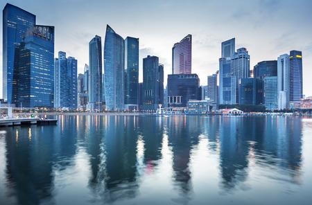 Paysage urbain de Singapour Banque d'images - 39384129