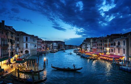 日没時間、ヴェネツィア、イタリアの大運河