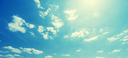sunny day: sky and perfect sunny day