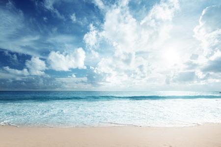 tropical beach Standard-Bild