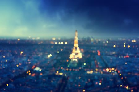 Bokeh à Paris, France, Banque d'images - 43157695
