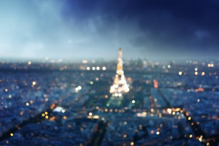 Bokeh à Paris, France, Banque d'images - 43161686