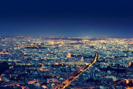 Panorama of Paris, France Banque d'images