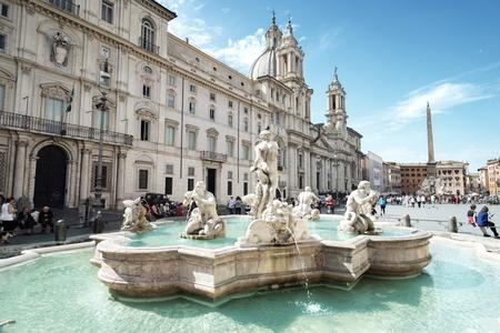 roma antigua: Piazza Navona, Roma. Italia Foto de archivo
