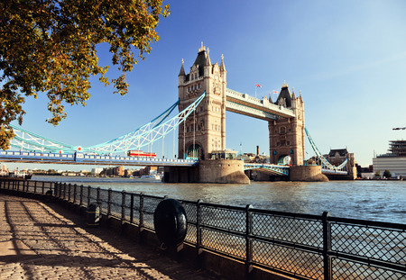 uk: Tower Bridge in London, UK
