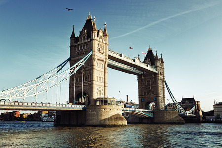 Tower Bridge in Londen, VK