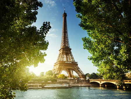 eiffel tower architecture: Eiffel tower, Paris. France Stock Photo