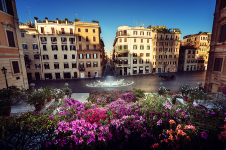 europeans: Spanish Steps, Rome, Italy