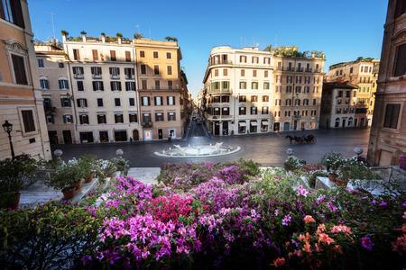 rome italy: Spanish Steps, Rome, Italy