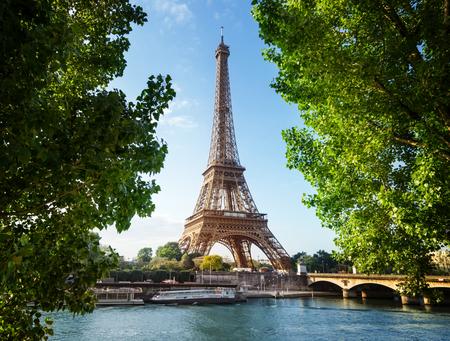 エッフェル塔、パリ。フランス 写真素材