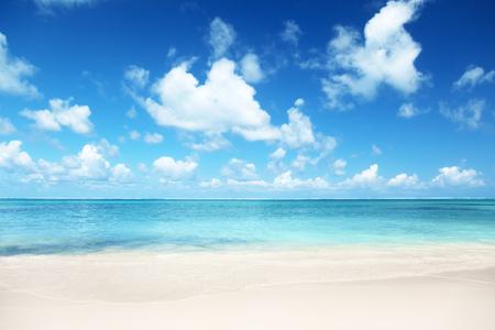 Sand Strand Karibik Meer Standard-Bild - 45929222