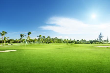 course: golf course