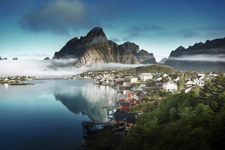 lofoten: Reine Village, Lofoten Islands, Norway