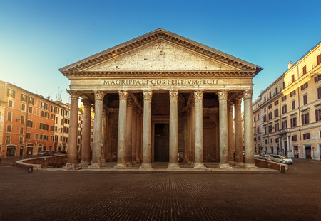 rome: Pantheon in Rome, Italy