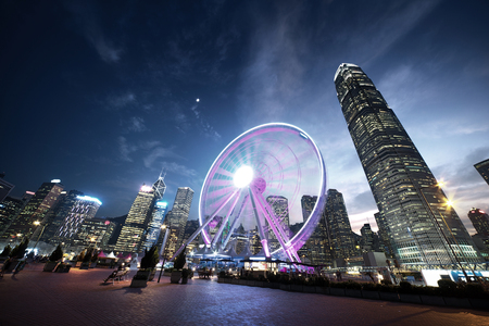 Observation Wheel, Hong Kong 版權商用圖片