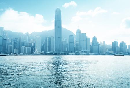 hong kong harbour: Hong Kong harbour at sunny day