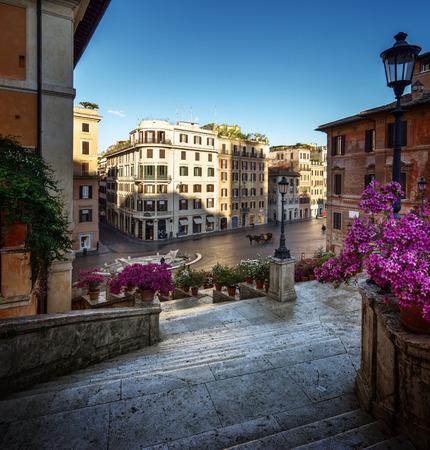 obelisk stone: Spanish Steps, Rome, Italy