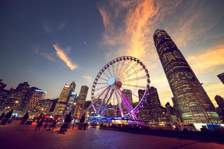 Observation Wheel, Hong Kong Standard-Bild