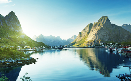 rorbuer: Reine Village, Lofoten Islands, Norway