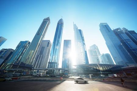 셰이크 자이드 도로, 아랍 에미리트 스톡 콘텐츠