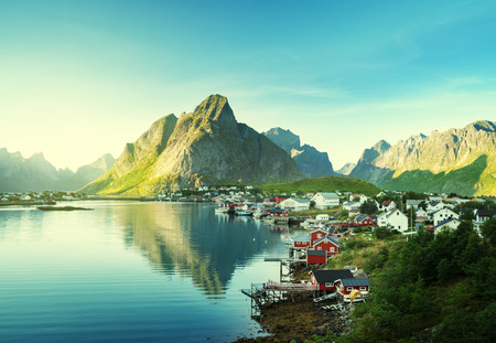 norway: Reine Village, Lofoten Islands, Norway