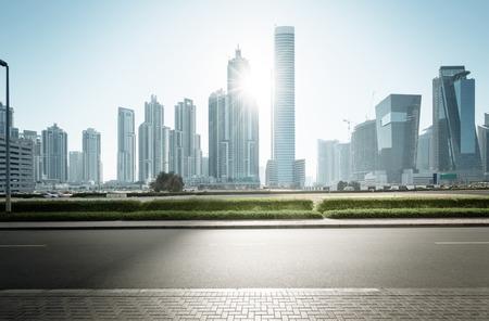 Dubai skyline, United Arab Emirates Banque d'images