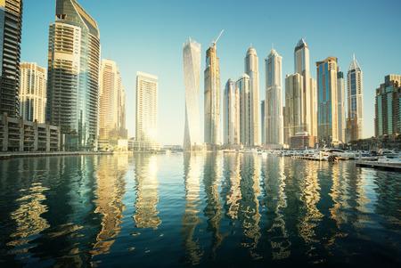 united arab emirates: Dubai Marina, United Arab Emirates