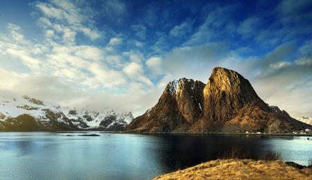 spring in Norway, Lofoten islands Stock Photo
