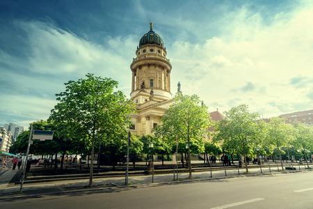 Cathedral on Gendarmenmarkt, Berlin, Germany Stock Photo