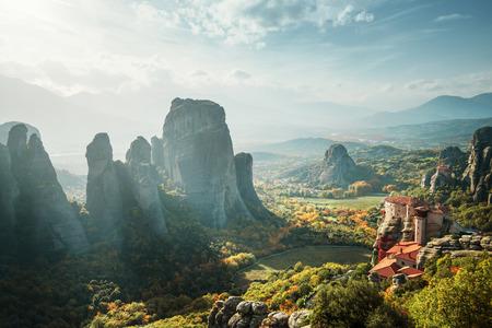monasteri: monasteri di Meteora in Grecia
