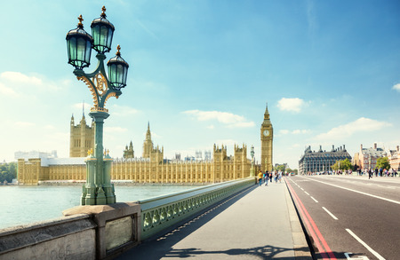 city of westminster: Westminster Bridge, London, UK