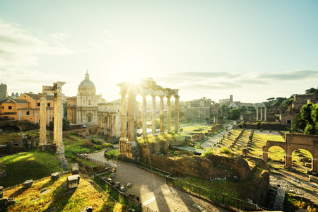 european: Roman Forum in Rome, Italy