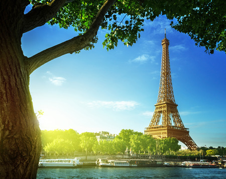 paris france: Eiffel tower, Paris. France Stock Photo