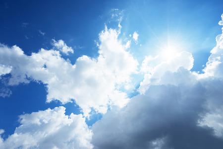 cloudscapes: sun and beautiful clouds