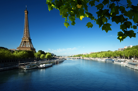 Eiffel tower, Paris. France Stock Photo