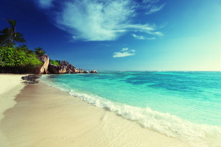 Anse Source dArgent beach, La Digue, Seyshelles